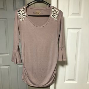 Maternity shirt W/ Bell Sleeves